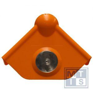 MagProtect MPS_M1-25, veiligheidshoek, Model met magneet en schroefgat