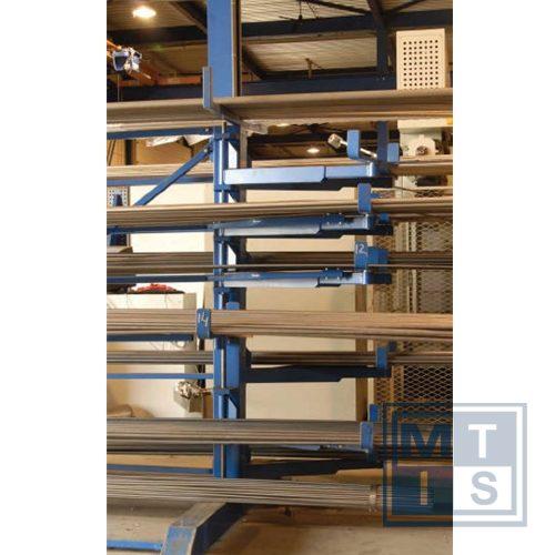 Zwenkarmstelling - Twee koloms - dubbele uitvoering - 800mm