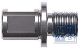 Kernboor adapter Weldon-M16 incl. centreerstift
