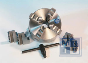 Opzetklauwen (gehard) klauwen tbv K12-250a Zelfcentrerende 4-klauwplaat, set van 4 stuks